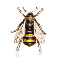 Mode Vintage Épingles Broche en émail pour Corsage Femme Accessoires Antiquités Insectes Insectes Insectes Icônes d'animaux