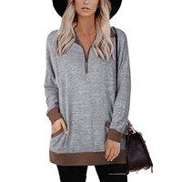 Женские свитера Wepbel с длинным рукавом свитер Top осень зима пуловер повседневная мода почтовый карман