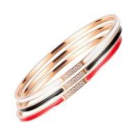 OPK jewelry niche dign net red classic fashion trend women's sexy versatile titanium steel bracelet 2021 NEW