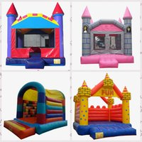 Commercial Backyard Inflatable trampoline air bouncer bounce house bouncy jump castle umpers Jumpoline for child
