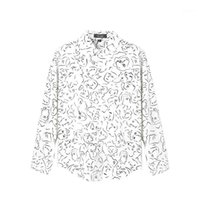 Spring And Autumn Men's Floral Shirt Call Me By Your Name Movie Timothy The Same Loose European American Long-sleeved Casual Shirts1