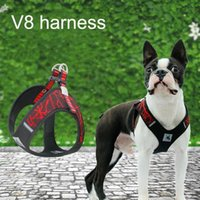Dog Collars & Leashes Pet Chest Strap V8 Comfortable Back Traction Rope Breathable Vest Harness Leash Reflective Harnesses