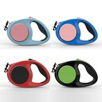 Dog Collars & Leashes Reflective Retractable With Non-slip Grip And High Quality Silk Rope Is Durable Comfortable Which Can Add Safety