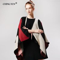 Winter Scarf Fashion Pure Stitching Cashmere Decorative Woman Warm Lady Shawls Ponchos Capes Designer Brand Soft Scarves Bandanas
