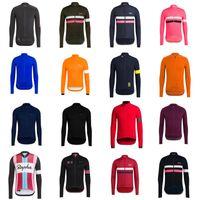 Rapha Team Team Cycling طويلة الأكمام جيرسي الملابس MTB جبل تنفس سباق الرياضة ارتداء دراجات مايلوت لينة الصديقة للبشرة 42258