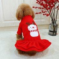 Dog Apparel Clothes Costume Lovely Befitting Cotton Princess Couple Shirt Dress Coat Pets Autumn Winter Polyester