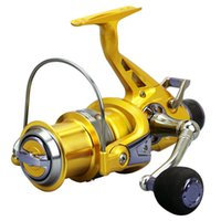 Spinning Fishing Reel Guide Rod Front Rear Brake Lightweight Large Line Capacity High Quality Saltwater Fishing Reels
