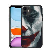 Halloween Joker TPU TPU Soft Cell Téléphone pour iPhone 13 Pro Max 12 Mini 11 XS XR 6 7 8 678plus Custom Mobilephone Couvertures