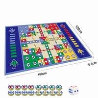 180 см х 120см шахщажм настольная игра летающие шахматы ковер ребенок классический полета игрушечный подарок головоломки для ребенка wj217 210402