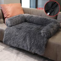 Cat Beds & Furniture Washable Pet Sofa Dog Bed Calming For Large Dogs Pad Blanket Winter Warm Cats Mat Couches Car Floor Protector