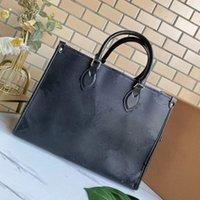 عالية الجودة المرأة جلدية فاخر مصمم حقيبة يد الإناث الأزياء رسول onthego حقائب محفظة حمل