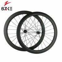 Rodas de bicicleta Bzke carbono para estrada 700c wheelset disco de disco 38mm profundidade 350 hubs freio trava