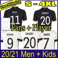 Deutschland 2020 Fußball Jersey Home Hengst Hummel Kroos Draxler REUS Müller Gotse European Cup Football Hemden Uniformen Männer + Kinder Kit