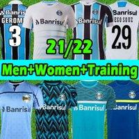 2021 Gremio Futbol Formaları D.Costa # 10 Guild Giuliano 21/22 Ramiro Geromel Luan Maicon Fernandinho Grêmio Jersey Erkek Kadın Eğitim Yelek Futbol Gömlek Tayland