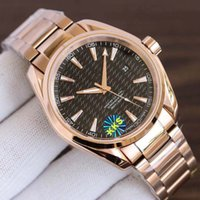 KKs fábrica de relógios masculinos fabrica o movimento de 3 jardas 8500 Seahorse série Aqua Terra 150m 41.5mm 316L Submersível Natação Safira Espelho de Vidro