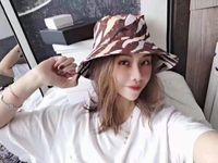 أحدث عارضة الأزياء صياد قبعة دلو دلو كاب الملونة حوض القبعات الشمس الظل sunhat كاب للجنسين