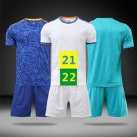 الولايات المتحدة بسرعة 21 22 قمم كرة القدم ارتداء المنزل جيرسي ملابس كرة القدم قصيرة الأكمام 2021 الرجال بعيدا mailleots الاطفال عدة مجموعات قمصان الزي 2022 مع logo # HMZ-21B1