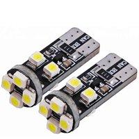 أضواء الطوارئ 500 قطع كانبس T10 8SMD 3528 1210 LED لا obc خطأ 194 168 W5W لمبة الداخلية الأبيض