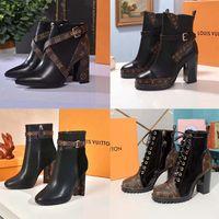 Classics Exquisite Leder-Plattform-Designer-Stiefel Martin Frauen boot High Heels und echte draußen Mode Booties Home011 01