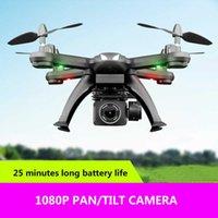 UAV New X6S Drone HD Camera 480P / 720P / 1080P FPV FPV Dron One-botão Retorne Flight Flight Hover RC Drone Brinquedos para Crianças Q0602