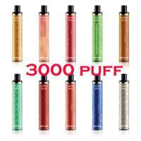 3000Puffs Autêntico Hotbar Super Mega Mega Vape Caneta Dispositivo E-Cigarros vs Puff XXL Air Bar Lux Max Pro Randm Sweet Style 1350Mah Bateria