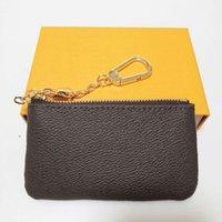 2021m62650 Pochette Cles Designer Pouch Fashion Womens Herren Schlüsselanhänger Kreditkartenhalter Münze Geldbörse Luxus Mini Geldbörse