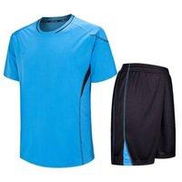 Moda Futebol Jerseys Em Branco Adulto e Crianças Futebol Futebol Ternos Maillot de Foot Survatement Boys Sport Jersey Terno