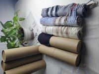 NUEVO 2020 Moda Invierno Unisex 100% CashMere Bufanda para hombres y mujeres de gran tamaño Classic Cheque chales y bufandas bufandas