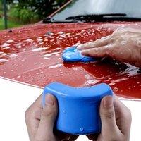 جهاز كمبيوتر شخصى 100/180 جرام نظافة سيارة الأزرق ماجيك الطين غسل السيارات التصميم التفاصيل تنظيف أدوات غسالة اليد النظيفة