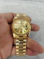 Orologi da uomo Golden Golden Golden 41mm Quality Fashion Sports Movimento automatico Azienda Business Business Luminoso 316L Acciaio inossidabile Impermeabile Donne Diving Data Mens Luxur Guarda 2813