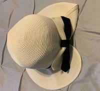 Collapsible Holiday Beach Hüte Hohe Qualität Womens Wide Remph Hut Tide 2 Farben Fischer Sonnenmütze Mode Party Caps HH21-239
