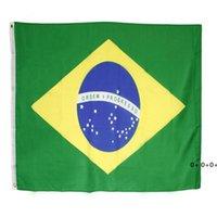Direkte Fabrik 3x5 fts 90cmx150 cm 100% Polyester BR BH Brasilien Brasilien-Flagge für Dekoration GWE5579