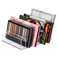 Hooks & Rails Makeup Organizer Acrylic Eyeshadow Palette Accessories Storage For Bathroom Sink Vanity Trays Closet Shelf Drawer Sunglasses