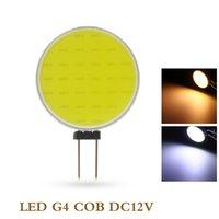 LED G4 COB Lamba Serin Sıcak Beyaz 7 W DC12V 30 cips LED İç mekan için halojen lamba spot ampul yerine