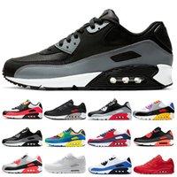 الجملة الكلاسيكية 90 رجال ونساء احذية الجري موضة أحذية رياضية مدرب وسادة 90S سطح تنفس الرياضة 36-45
