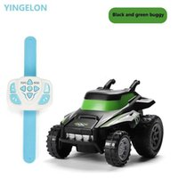 Remote Control Car Kids SUV Car Toys Smart Electric Watch Control RC Cars Dirt Bike stage lighting 1:24 Toy for Boys Gifts Q0726