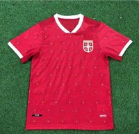 2021 Serbia Soccer Jersey 9 Mitrovic 10 Tadic 11 Kolarov 20 21 Sergej Matic Kostic Ivanovic Custom Home Away Srbija Camisa de Futebol