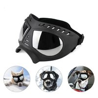 Cool Dog Sunglasses UV Protection Windproof Goggles Pet Eye Wear Medium Large Dog Swimming Skating Glasses Accessaries