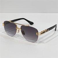 Vintage Brand Metal Sunglass Eye Retro Men Fashion Sun Frame Quality Framless Frames Womens Rimless Designer Glasses Eyewear Gold 139 H Iwnn