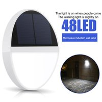 Solar Lamps 48 159LED Wall Light Outdoor Waterproof Motion Sensor Lamp Garden Balcony Lighting Home Courtyard Decorations
