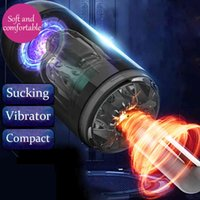Automatic Piston Telcopic Real Vagina Male Masturbator Cup Sex Moaning Flirting Sucking Vibrator adult Toys For 2EFJ