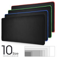 Mouse Pads & Wrist Rests Large Gaming Pad Computer Mousepad Waterproof Multi-size Anti-slip Natural Rubber Desk Mat With Locking Edge Play