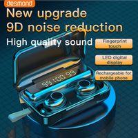 F9-30 TWS Bluetooth Headphones 5.0 Headset Mic Hands free Earbuds Wireless In-Ear Earphone With Charging Box earbud