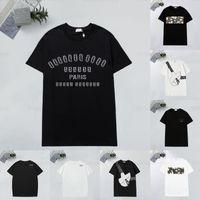 여름 티셔츠 높은 quanlity 느슨한 티즈 디자이너 티셔츠 남성 여성 짧은 소매 캐주얼 티셔츠