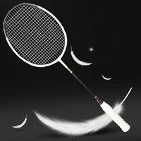 Ultralight Profesyonel Karbon Fiber Badminton Raket 5U Raquette 6 Renkler Raketler Z Hız Kuvvetleri Padel Hafif 75-79g