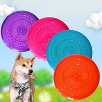 Interactive Dog Chew Toy Bite Resistant Soft Flying Discs Puppy Outdoor Training Products Pet Game Flying Saucer Toys
