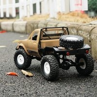 WPL C14 1/16 2.4 جيجا هرتز 4WD RC المجنزرة الطرق الوعرة نصف شاحنة سيارة مع المصباح RTR RC RC Crawler Car Girls Gifts