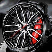 Дизайнерские часы бренда часы роскошные часы UB колес запястья автомобиль кварцевый мужской мужчина