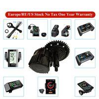 EU Stock Bafang 48V 또는 52V 1000W BBS03 BBSHD 중간 드라이브 모터 전기 자전거 변환 키트 DIY 8FUN 120mm / 100mm / 68mm