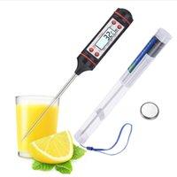 Küche kochen Nahrungsmittel Fleischsonde Digital BBQ Thermometer 50 bis 300 ° C Sofortige Lesen TP101 Life Appliances
